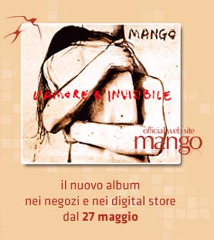MANGO, il 27 maggio esce il nuovo album LAMORE E INVISIBILE