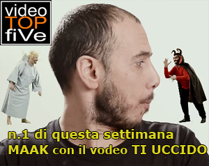 VideoTopFive, la video classifica dal 25.05.2014 al 31.05.2014