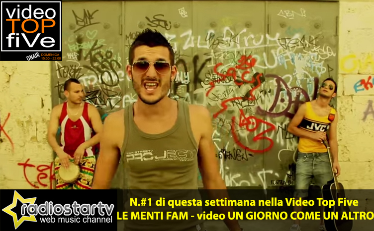 VideoTopFive, la video classifica dal 31.08.2014 al 06.09.2014