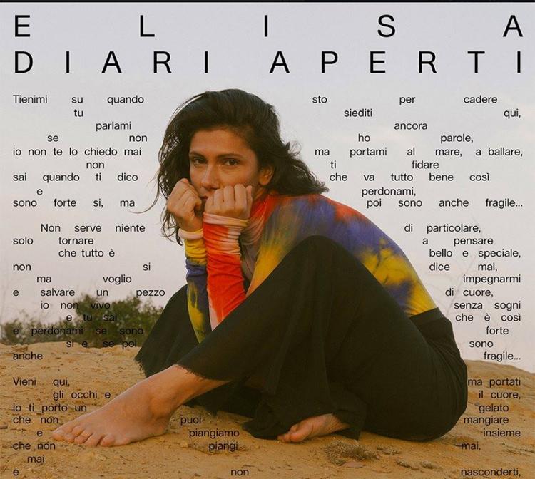 ELISA dal 15 marzo il nuovo live  Diari Aperti Tour