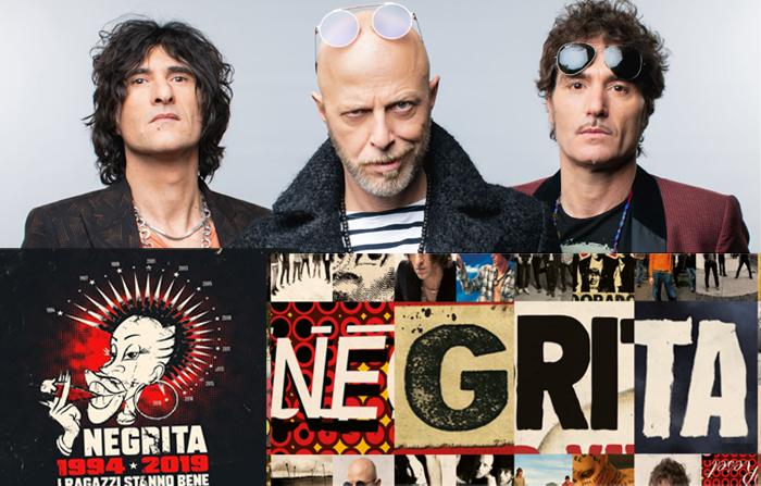 NEGRITA:  25th Anniversary Tour - le prime date confermate