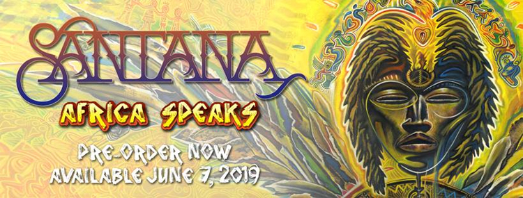 AFRICA SPEAKS è il nuovo album di SANTANA