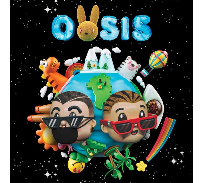 J BALVIN e BAD BUNNY a sorpresa fuori lalbum OASIS