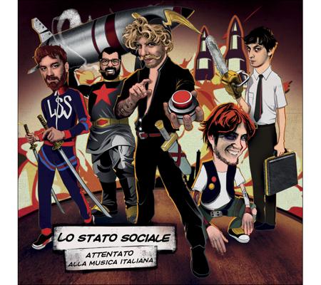 ATTENTATO ALLA MUSICA ITALIANA il triplo Vinile de LO STATO SOCIALE