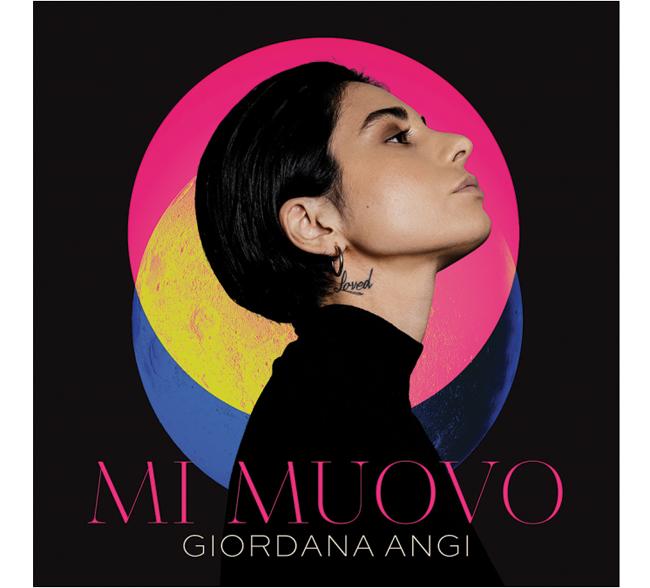 MI MUOVO il nuovo album di GIORDANA ANGI  a maggio