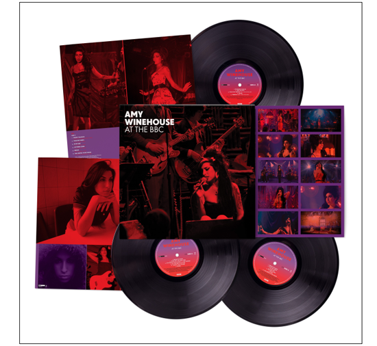 AMY WINEHOUSE – AT THE BBC in 3LP E 3CD