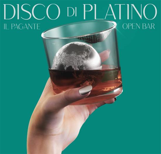 OPEN BAR il singolo de IL PAGANTE è disco di PLATINO