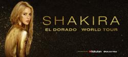 SHAKIRA in arrivo in Italia con EL DORADO WORLD TOUR