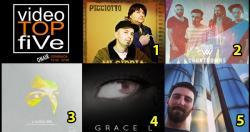 VideoTOPfiVe, la video classifica di RADIOSTARTV dal 31.12.2017 –06.01.2018