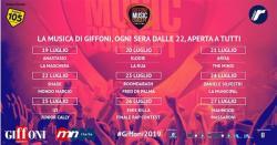 Giffoni Music Concept, dal 19 al 27 luglio il cast