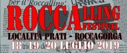 Roccalling Festival 15° edizione dal 18 al 20 luglio 2019