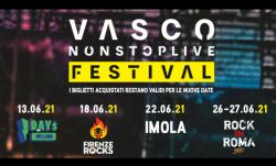 VASCO NON STOP LIVE FESTIVAL le date