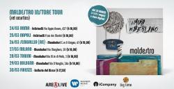 MALDESTRO esce il 24 marzo il nuovo album I MURI DI BERLINO
